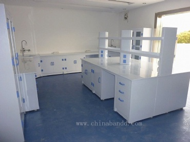 PP laboratory work bench,lab cabinets