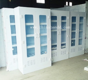 laboratory Medical Chemical Vessel PP Storage Cabinet