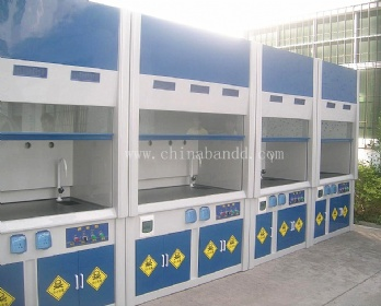 Full steel structure Lab Chemical Fume Hood